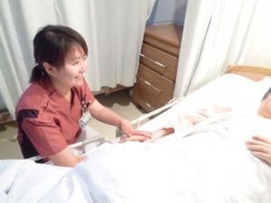 ナースの声 B3病棟 看護師 仲村夏美