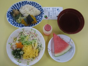 2020.8イベント食(常菜)